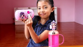 Video Unboxing Mainan Anak LOL Surprise Under Wraps -  Jelly layer Blind Bag Capsules - Eye Spy MP3, 3GP, MP4, WEBM, AVI, FLV Agustus 2018
