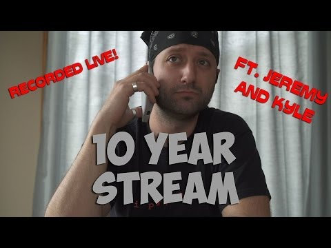 10 years anniversary - Very special stream featuring Jeremy and Kyle in character for the 10 year anniversary of the start of Pure Pwnage. Recording of the Pure Pwnage