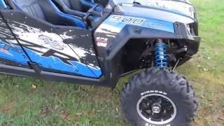 6. Polaris RZR Jagged X, lots of motor upgrades, long travel shocks, power steering