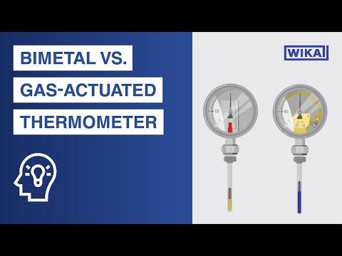 Termometri bimetallici vs. ad espansione di gas. Qual