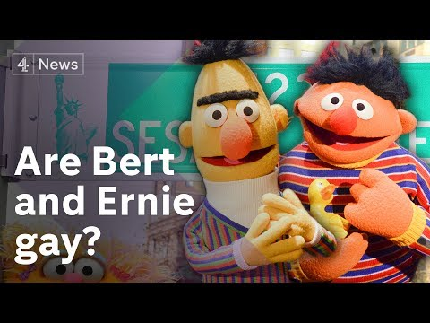 Bert and Ernie controversy: Are they gay? (видео)