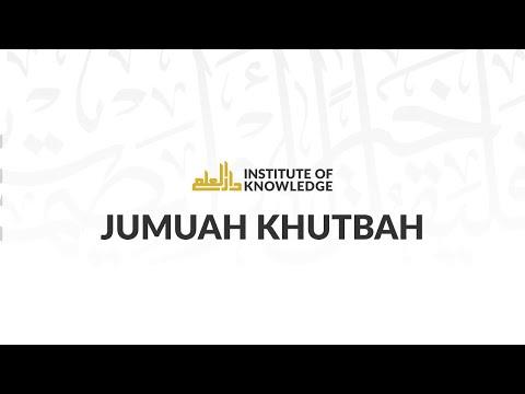 Dr. Ahmed Soboh   IOK Khutbah   1/31/2014