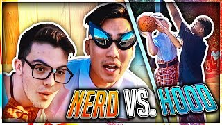Video Nerd Plays Basketball In The HOOD ! MP3, 3GP, MP4, WEBM, AVI, FLV Agustus 2017