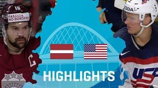 Латвия - США 3-5