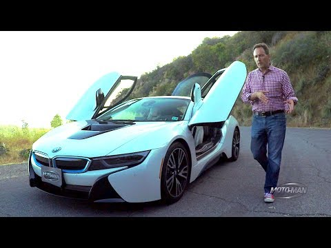 2017 BMW i8 PHEV TECH REVIEW (1 of 2)