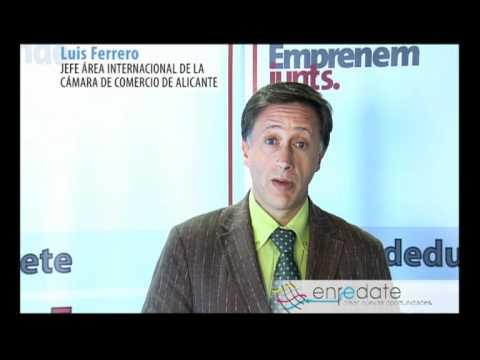 Luis Ferrero Roselló, Jefe del Área Internacional de la CÁMARA DE COMERCIO DE ALICANTE