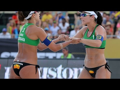 Agatha/Barbara (BRA) vs. Lima/Fernanda (BRA) - Semi Final - Women World Tour St. Petersburg 21.06.15