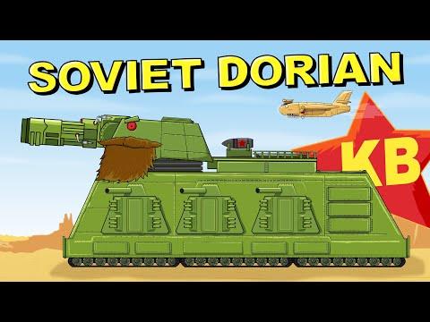 """""""Soviet Dorian"""" Cartoons about tanks"""