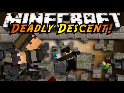 Minecraft Parkour Mini-Game : DEADLY DESCENT!