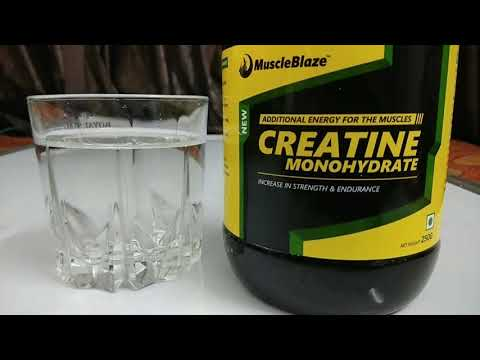 How to consume  creatine monohydrate