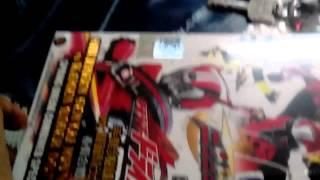 Kamen Rider Drive Vs Ninninger Dvd Unboxing