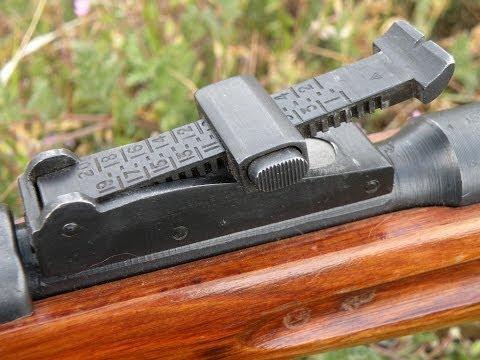 1126 Yard Iron Sight Shot! w/ Mosin Nagant 91/30