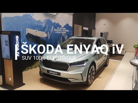 ENYAQ iV : 100% électrique, 100% familial