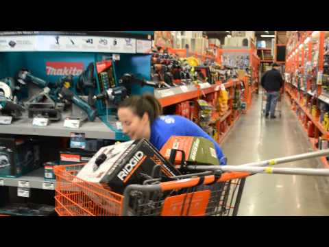 Canid Cart Challenge: 90 seconds of Home Depot Madness