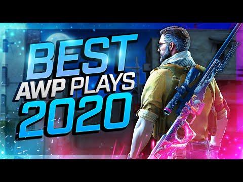 BEST CS:GO PRO AWP PLAYS 2020