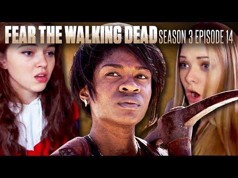 "Fans React To Fear the Walking Dead Season 3 Episode 14: ""El Matadero"""