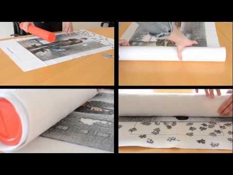 Puzzle Matte | Puzzle Rolle - Aufbewahren, Transportieren, Puzzle-Unterlage
