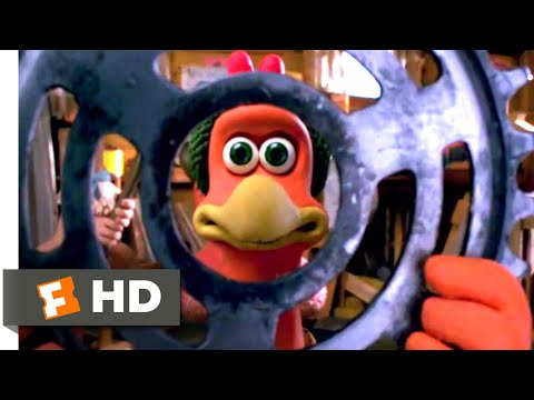 Chicken Run (2000) - Building Suspense Scene (7/10) | Movieclips)