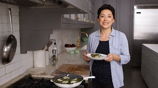 Swiss Chard Frittata with Rye Berries- Healthy Appetite with Shira Bocar by Everyday Food