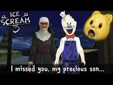 Ice Scream 3 SECRET ENDING - EVIL NUN IS ROD'S MOM!?!