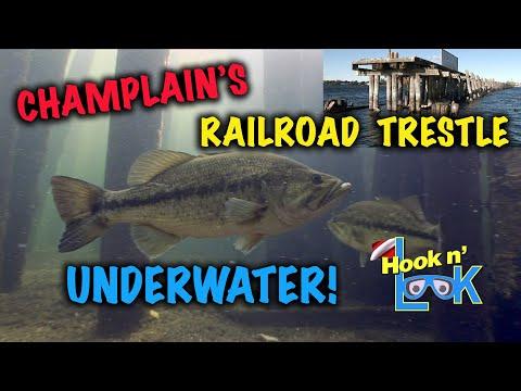 Lake Champlain's Railroad TrestleLake Champlain's Railroad Trestle<media:title />
