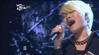 [엠카 동영상] '가슴아 가슴아' 손승연, 가창력 폭발 '소름 쫙~