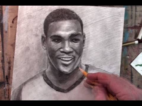 The Side Part: How to draw Mr. Kevin Durant
