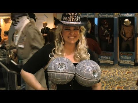 costumes - Chad Vader identifies as many costumes as he can at Dragon Con 2010. Get the Blamesociety Facebook app: http://apps.facebook.com/blamesocietyfilms.