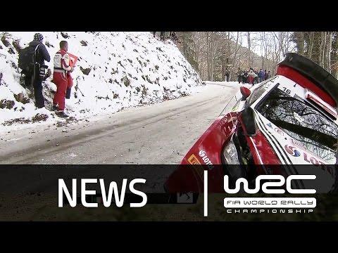 Vídeo resumen tramos 1 al 5 WRC Rallye MonteCarlo 2016