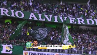 Gols do jogo Coritiba 1 x 1 Fluminense - 24ª Rodada Brasileirão 2015 - 09/09/2015.