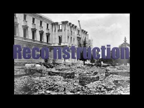 Reconstruction The United States from 1865-1877