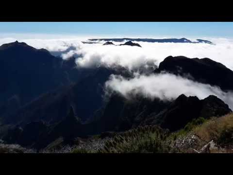 clouds @ mountais (видео)