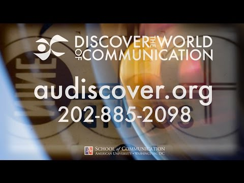 American University – Discover the World of Communication