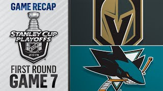 Sharks rally, win epic Game 7 in overtime by NHL