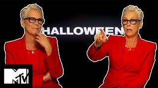 Jamie Lee Curtis Broke A Rib On Set With Michael Myers | Halloween | MTV Movies