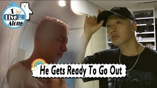 Video [I Live Alone] TAEYANG - Getting Ready To Go Out 20170818 MP3, 3GP, MP4, WEBM, AVI, FLV Desember 2018