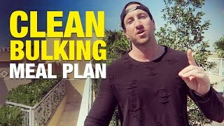 """Are you still too skinny? Get more advice on how to gain weight:http://www.weightgainblueprint.com/view/yt15fWhen it comes to the proper clean bulking meal plan it is so incredibly important to dial in your macros, as in how many total calories you need to eat, and how many grams of protein, carbs, and healthy fats you optimally need to reach your goal.The key to this working is that you want to consume just about 500 calories more than your surplus so you have enough for muscle growth and you don't have a big """"spill over"""" effect which can be detrimental to your progress.If you pack on too much body fat during your bulking plan it will be impossible to reach a shredded physique in 12-16 weeks when you cut as you will have to be in too drastic of a calorie surplus causing you to lose muscle mass, exactly what we don't want!Here are a few thoughts on how to set up the proper clean bulking meal plan to gain muscle without fat.Step 1 is you need to figure out your exact macro requirements so you can stay on track.The best thing you can do is figure out your calorie requirements using some great calculators online, or you can be lazy and just multiply your bodyweight by 15 and add about 500-1,000 to this number to factor in your activity level and how much training you do.Then most importantly you need to check your results each week and make sure you are gaining 0.75 - 1.25 lbs per week.If you are gaining less you need to up your calories. If you are gaining more you need to taper it down. I call this guesstimate and check.Ideally you want your macros to be around the following:Protein - at least 1 gram of protein per lb. of bodyweightCarbs - at least 1.5-2.0 grams of carbs per lb. of bodyweightFat - at least 25% of total calorie count should come from healthy fatsSo what type of food is best? You'll have to watch the video where I break it all down!See the full blog post here: http://www.weightgainnetwork.com/weight-gain-diets/clean-bulking-meal-plan-gain-muscle-withou"""