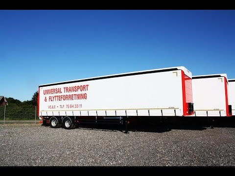 Universal Transport & Flytteforretning Profiliner Trailer