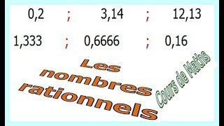 Maths 3ème - Les nombres rationnels Exercice 5