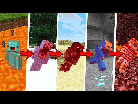 Minecraft But, If One Person Dies Everyone Dies