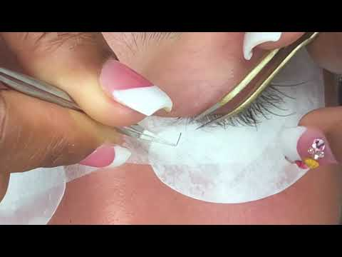 Here's a Quick way to do Lash Extensions (Detailed and Extended)
