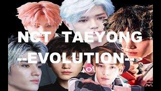 NCT Taeyong Evolution Evolución de taeyong de NCT **