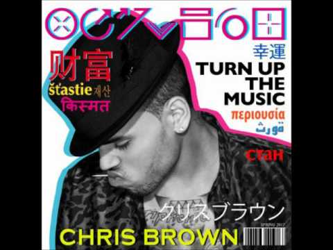 Chris Brown - Turn Up The Music (Instrumental) [Download] (видео)