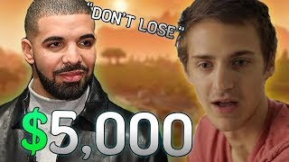 Video Drake Bets Ninja $5,000 He Won't Clutch The Win... Then This Happened! MP3, 3GP, MP4, WEBM, AVI, FLV April 2018