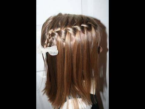 Waterfall French Braid | Cute Girls Hairstyles. Time: 3:4