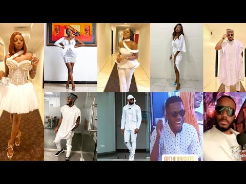 EX HOUSEMATES PREPARES FOR WHITE PARTY WITH TOP 5 HOUSEMATES