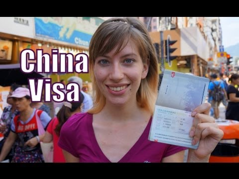 Obtaining a Visa for China in Hong Kong