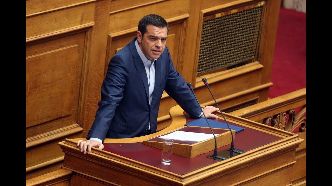 Δευτερολογία στην προ Ημερησίας Διατάξεως Συζήτηση στη Βουλή για την οικονομία