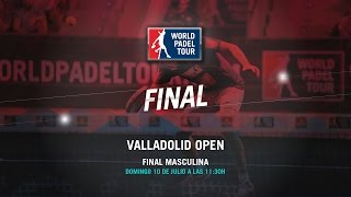 DIRECTO - Final Masculina Valladolid Open 2016 | World Padel Tour