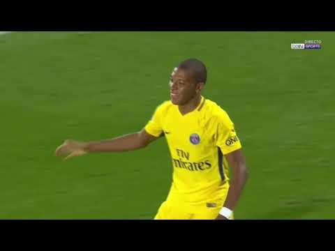 Kylian Mbappe debut goal Goal   Metz vs PSG 1 2 Ligue 1 2017 HD